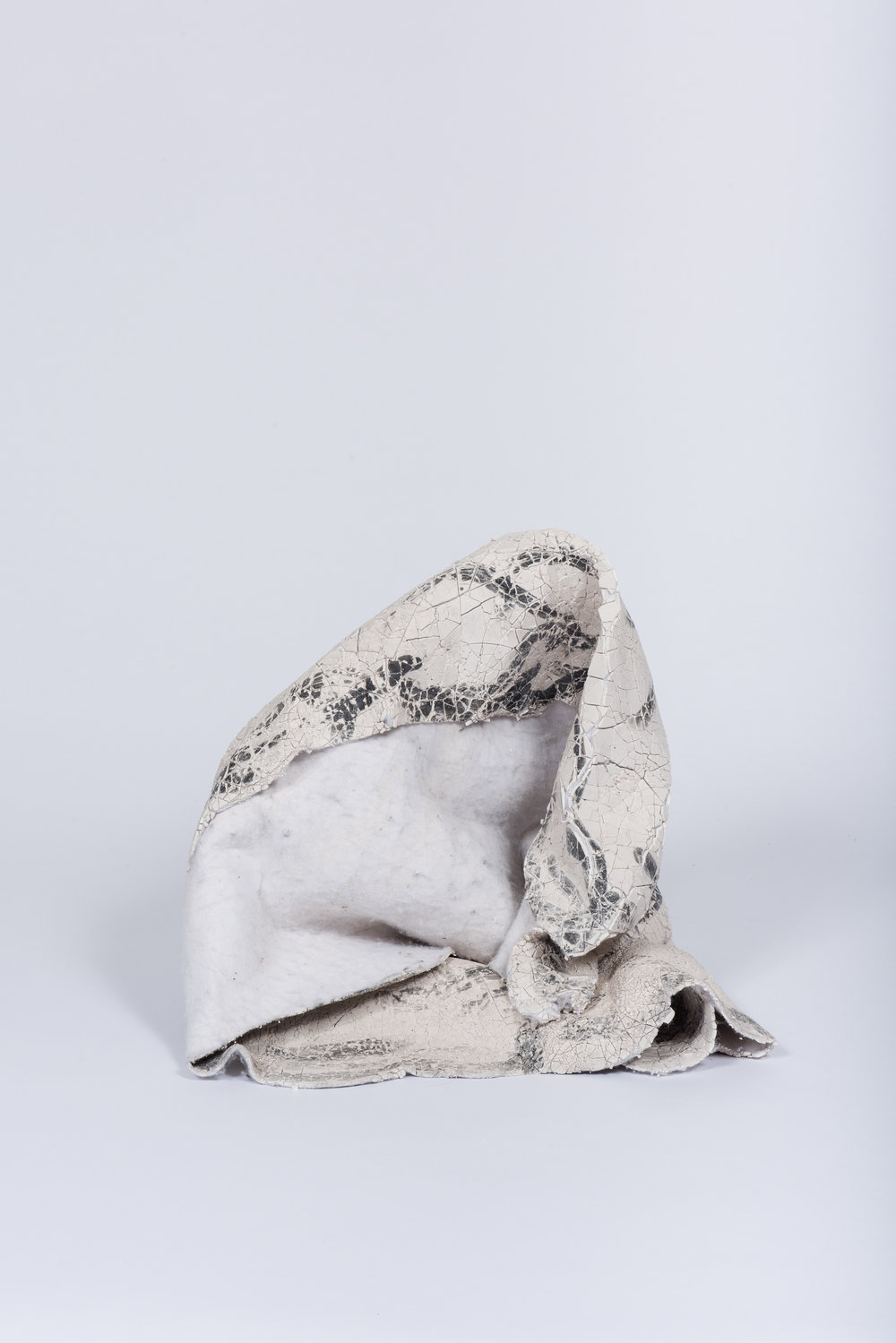 One of Manion's felt sculptures. Image courtesy of the artist.
