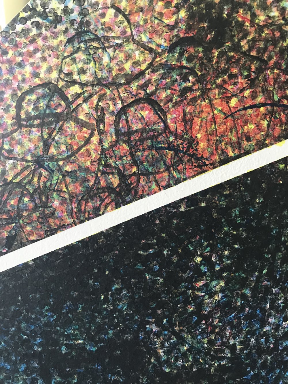 Detail from  It's Crowded in Space , collaboration with Andrew Rice. Image courtesy of the artist.