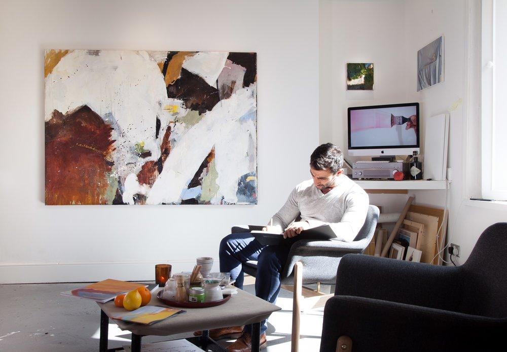 Richard Hearns in his Dublin Studio.JPG