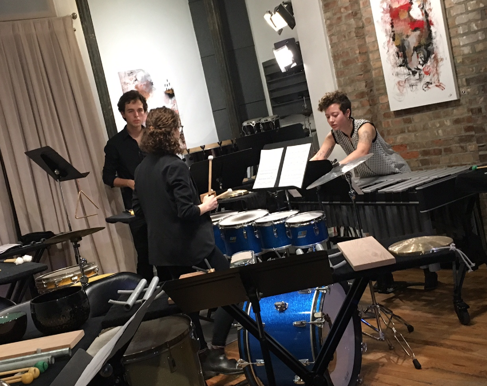 After All is Said premier October, 2017 at Scholes Street Studio, Brooklyn, NYC