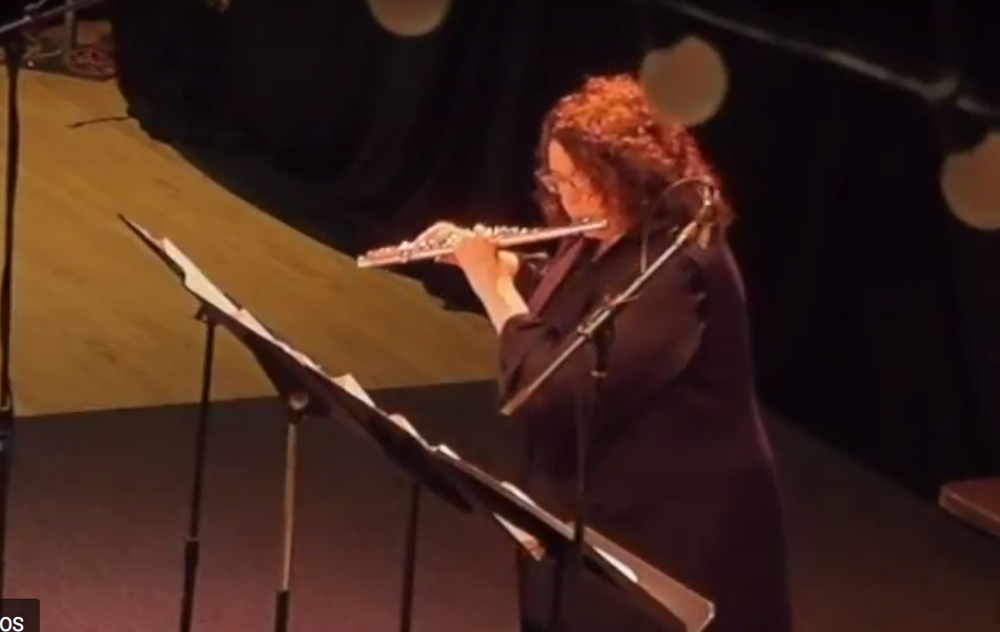 Arts at the Armory, Somerville, MA - 22 APR, 2017 Boston New Music Initiative, Deirdre Viau, flute