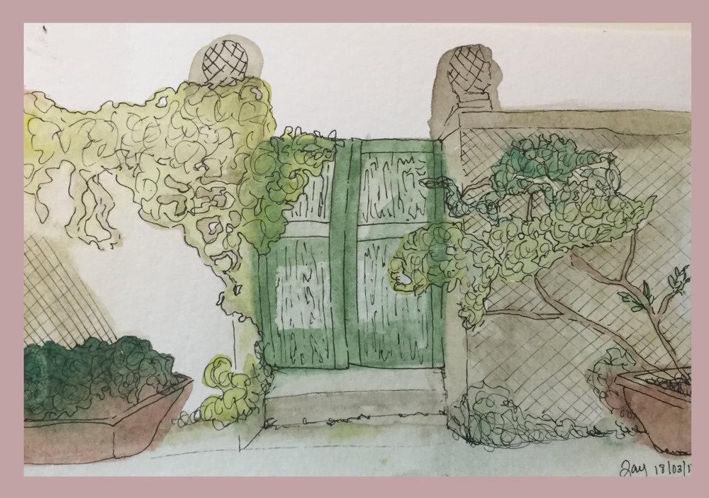 Ink & Watercolor, 2017