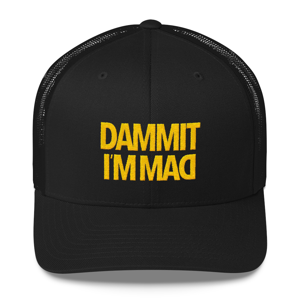 Dammit I'm Mad Baseball Cap - 30$ Including worldwide shipping