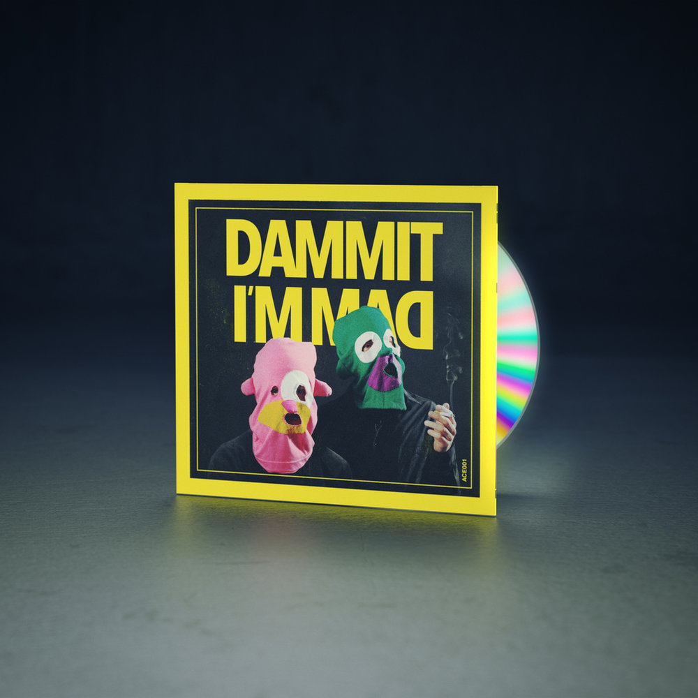 Dammit I'm Mad CD - 20 $ Including worldwide shipping