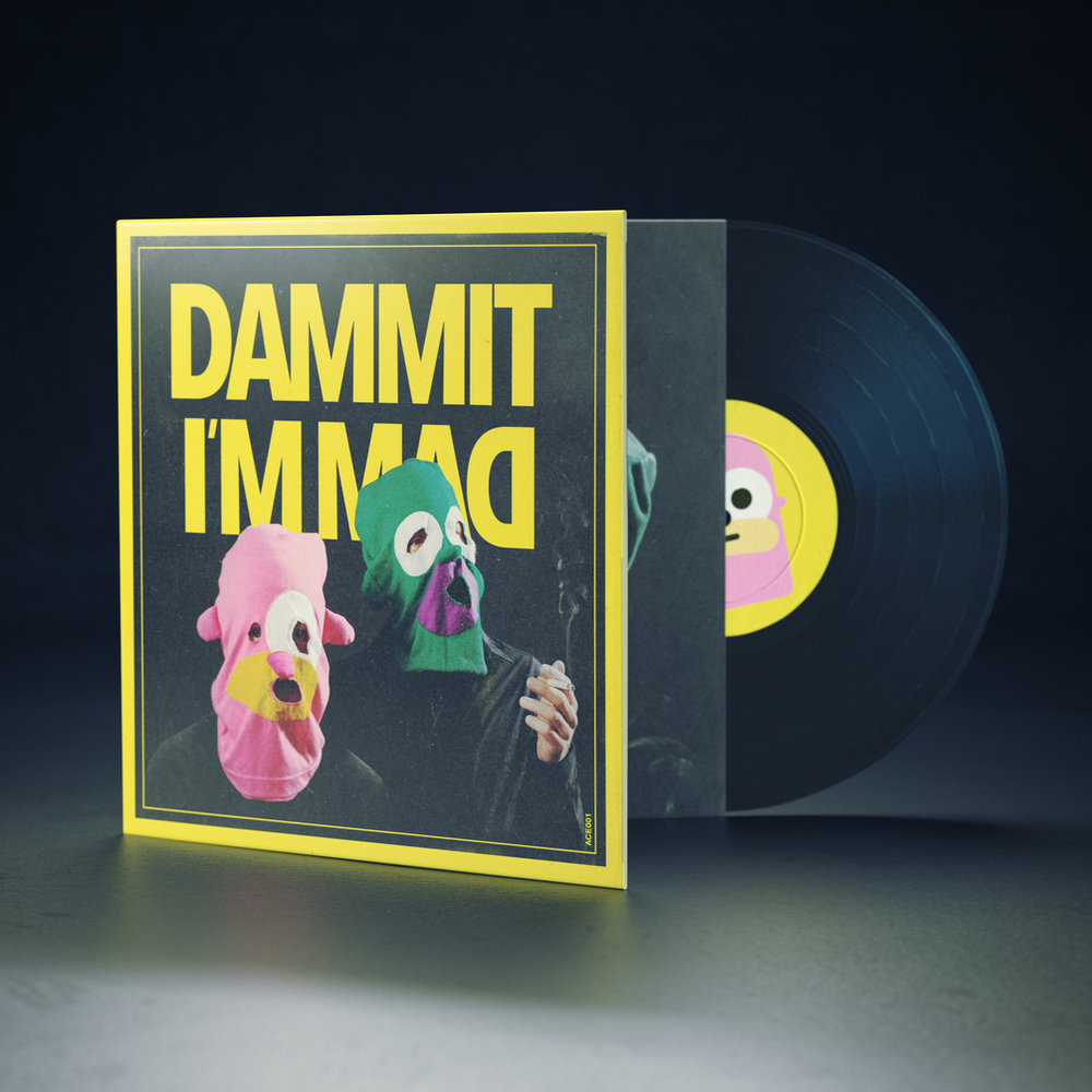 Dammit I'm Mad Vinyl - 25 $ Including worldwide shipping