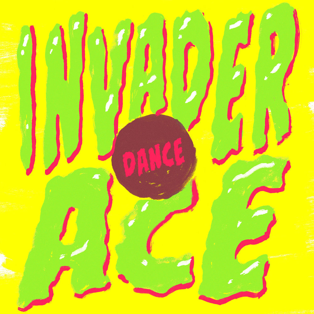 Invader Ace - Dance / Love Vinyl - 20 $ Including worldwide shipping