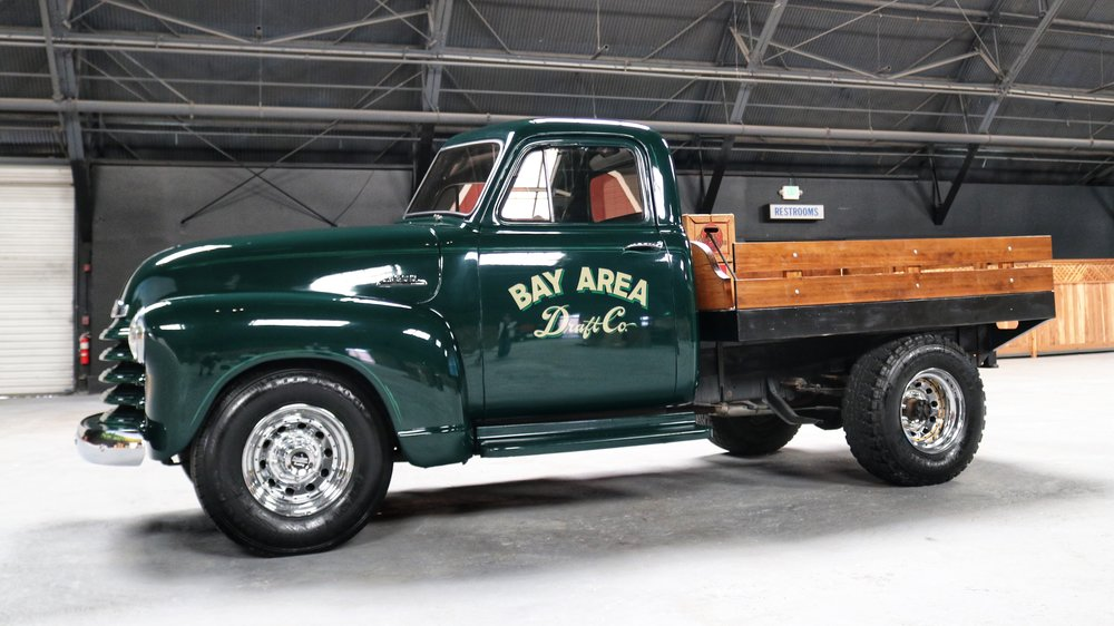 Vintage Draft Beer Truck
