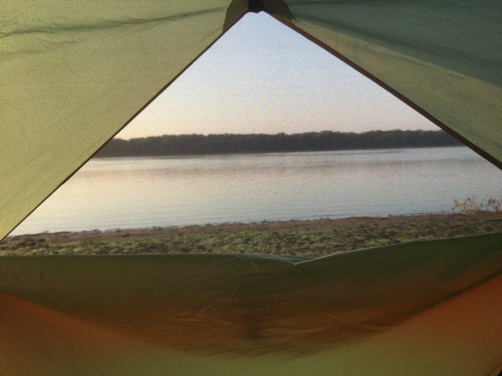 Mississippi River on Credit Island. Davenport, IA