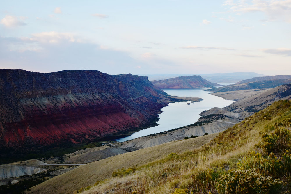 Flaming Gorge as seen on the Utah side.  Look at that beautiful shade of red… it is simple gorgeous.
