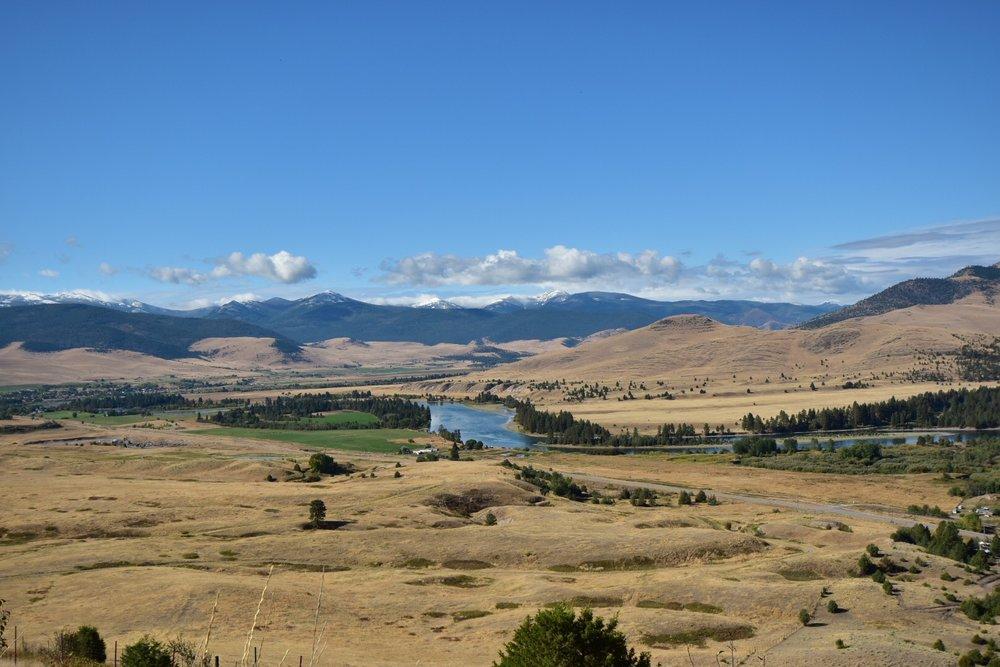 Top of National Bison Range