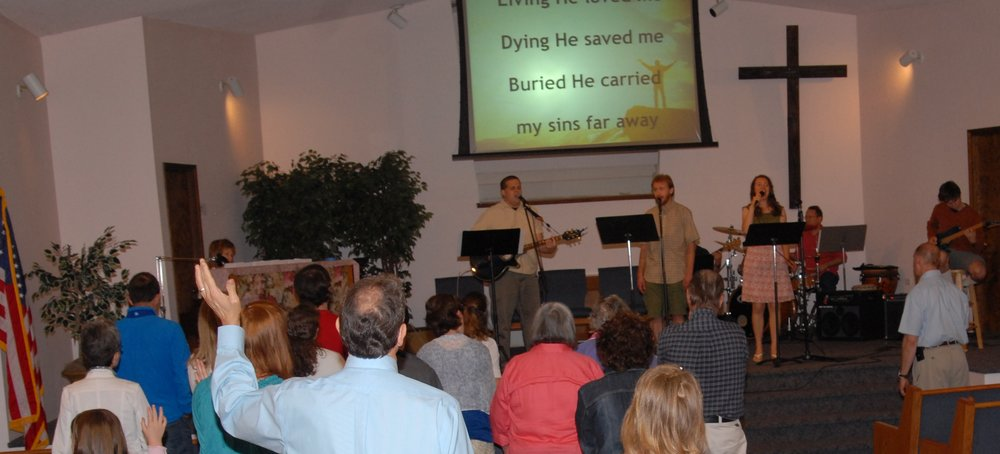 Worship with us at 11am every Sunday - Bible Class at 9:30am - 10:45am