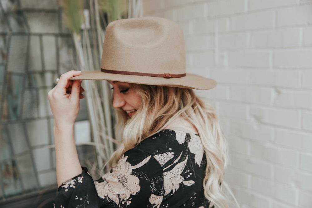 women's boutique hat