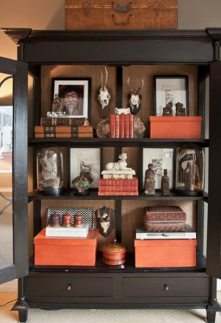 Curated cabinets…
