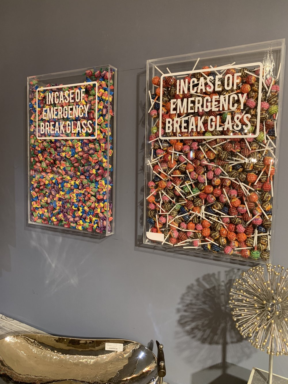 If those were dark chocolate peanut M & M's, it would definitely be an emergency.