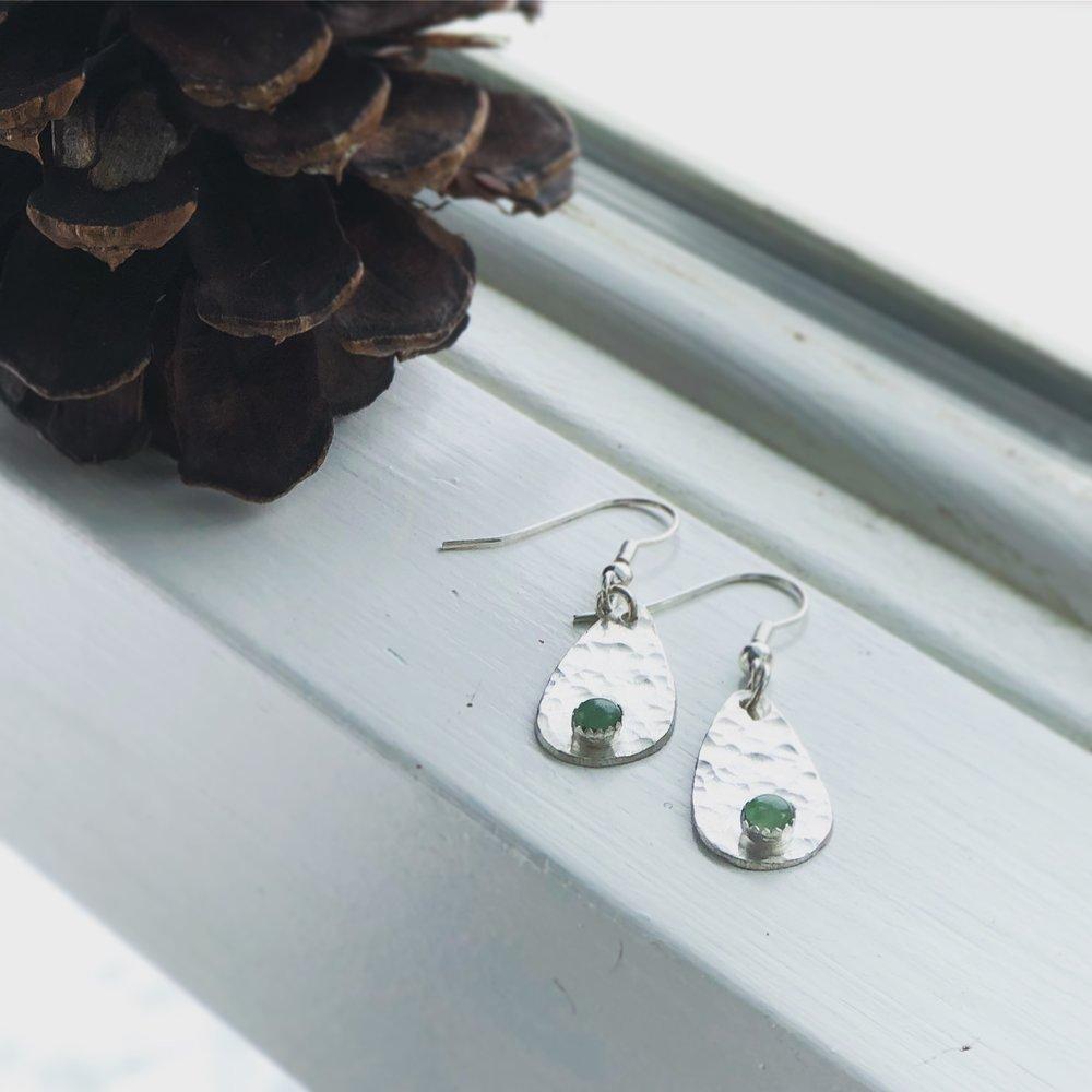 Green Earrings .JPG