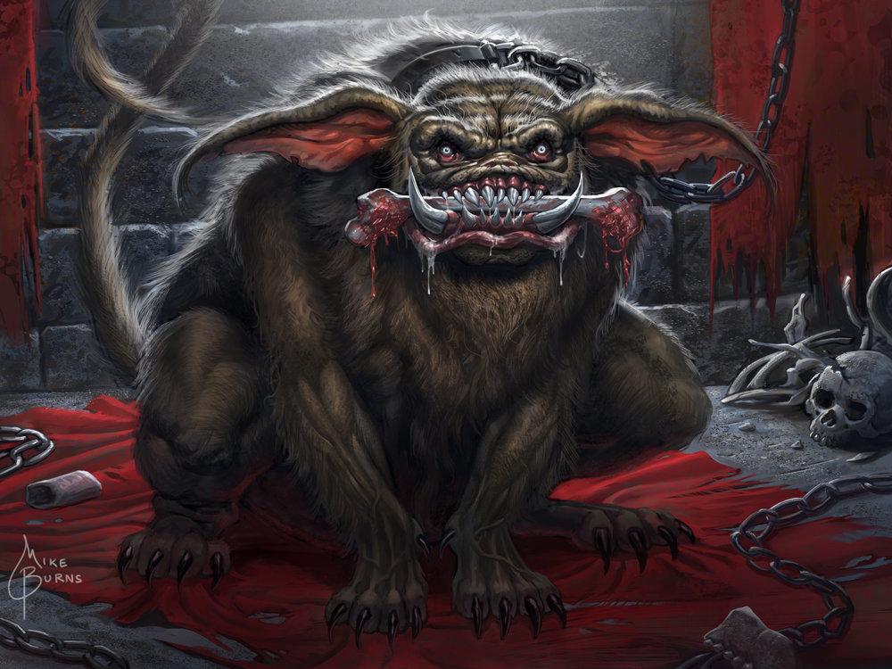 Dungeon Hellhound