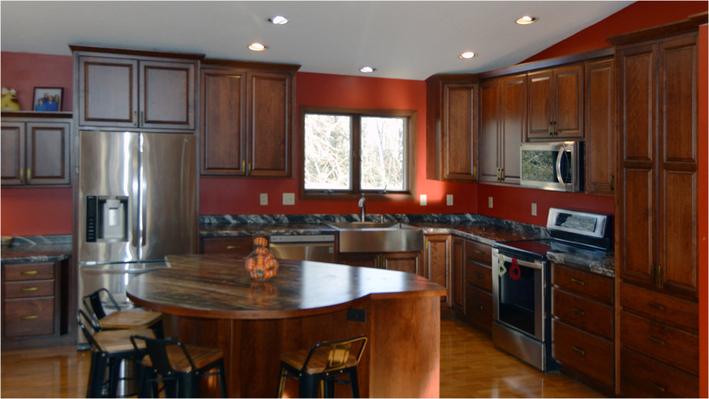 Our process creates a high-end custom kitchen at an affordable price. -