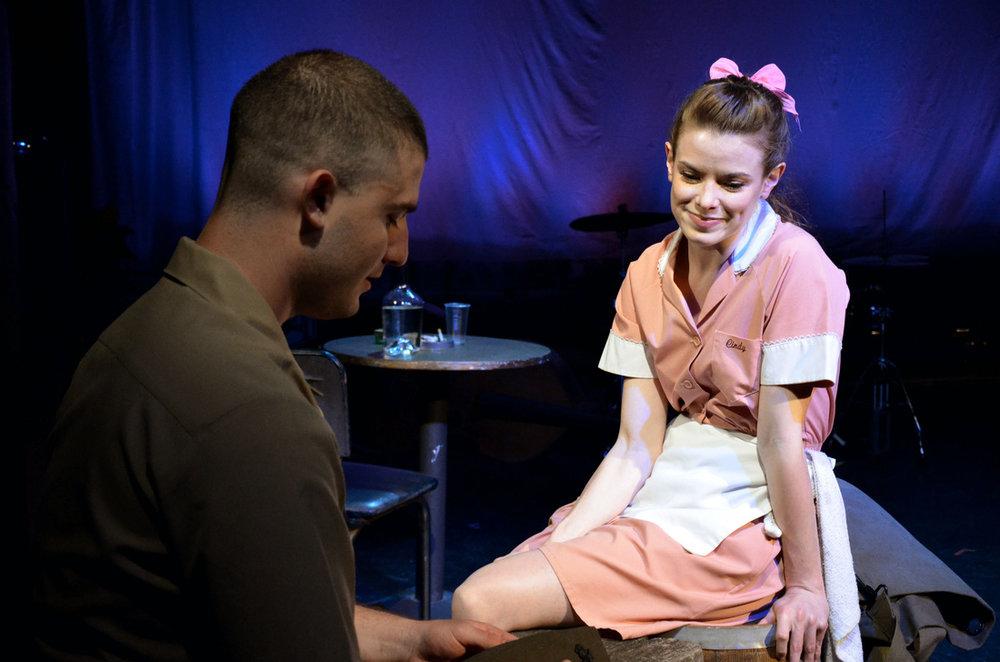Photo: Brianna Digioia   Andrew Isaac Rosenberg; Gwynneth Rose Benson Off-Broadway world premiere  Medicine Show Theatre  (NYC)