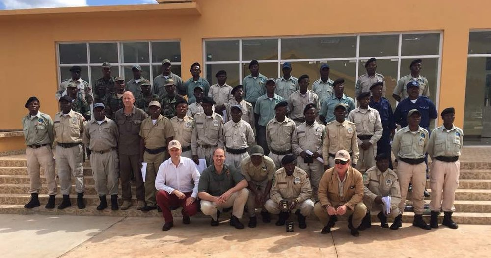 Boosting Angola's anti-poaching efforts - June 2017