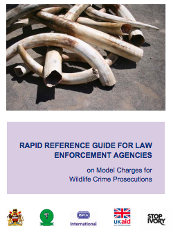 Rapid Reference Guide for Law Enforcement Agencies on Model Charges for Wildlife Crime Prosecutions