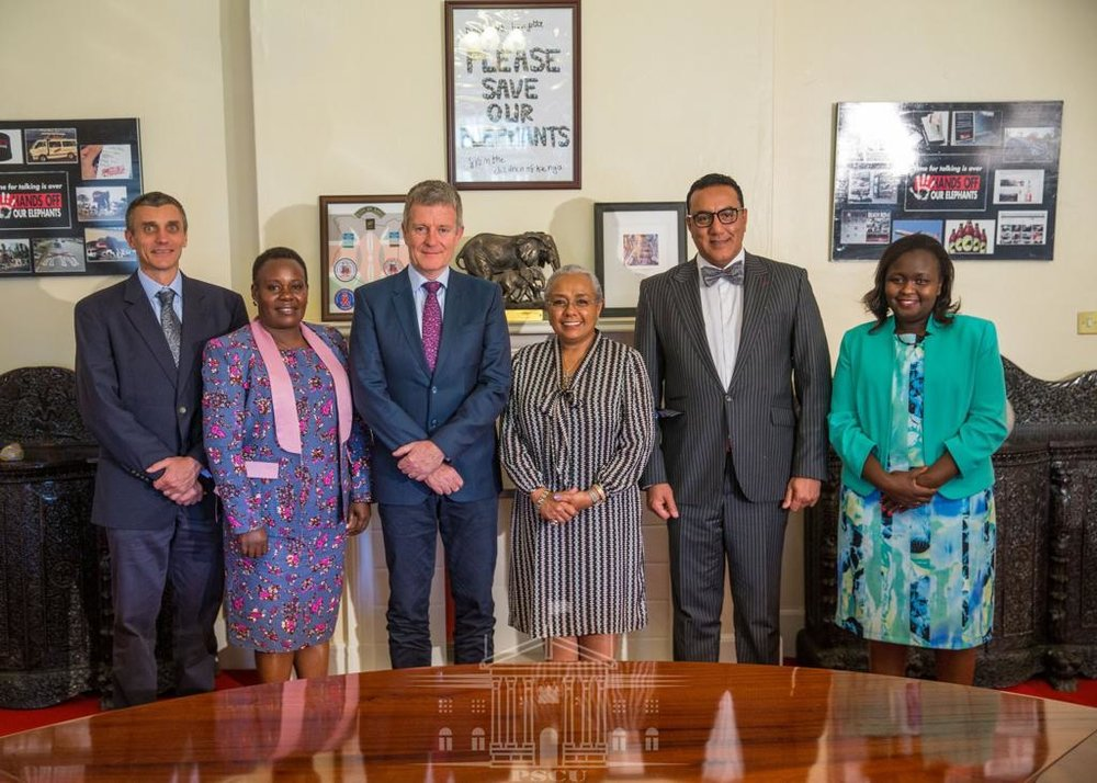 The EPI Foundation and the First Lady of Kenya - March 2019