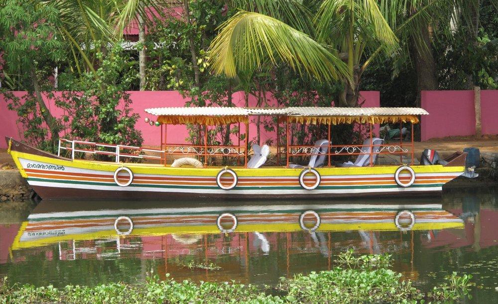 The Backwaters of Kerala, India
