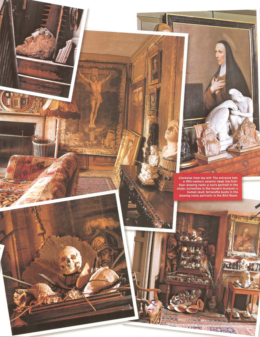 Malplaquet House photo by Derry Moore for Departures magazine London's House of Wonders article by Christopher Mason