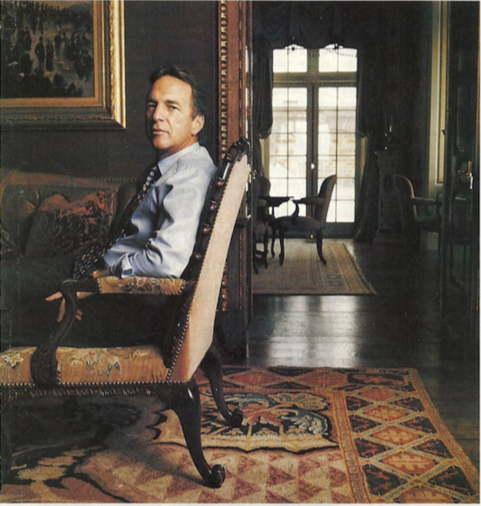 Herbert Black, scrap-metal millionaire and collector of Georgian furniture, who sued Sotheby's and Christie's