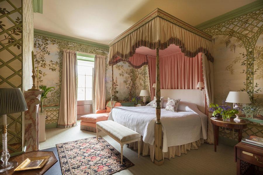 The Treillis Bedroom at Ballyfin