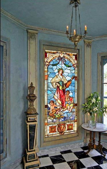 Yohannan hired an artist to restore the stained glass. Photo: John Lei for the New York Times