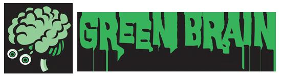 Green Brain Comics - PRESENTING SPONSOR