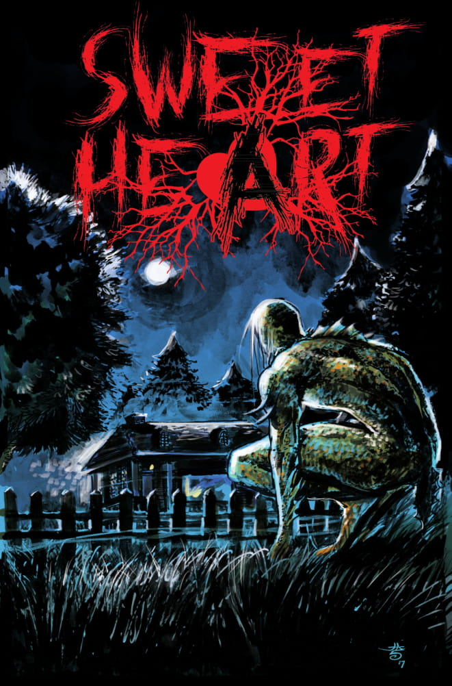 Sweet Heart - Horror; 5-issue limitedIn a town plagued by monsters, Madison is being stalked by the same creature that killed her father. Now, she'll do everything she can to eliminate the beast and repair the damage it has done to her family.