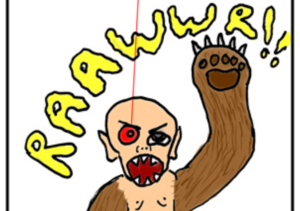 Bear Arm Baby - Comedy/My First Attempt at Comics (10 posts)Co-creator: Mike SweeneyCo-creator/Co-writer/Art: Amber DePerro