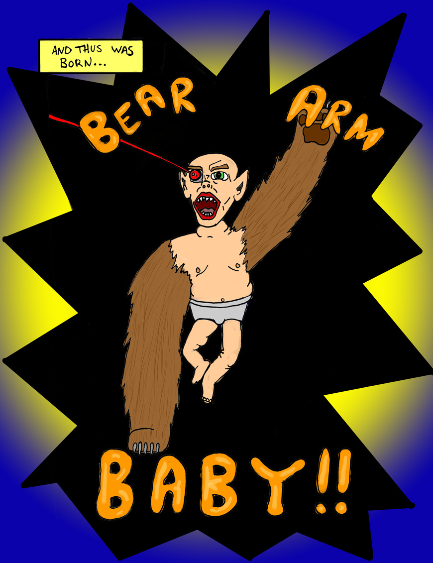 Bear Arm Baby; Page 7