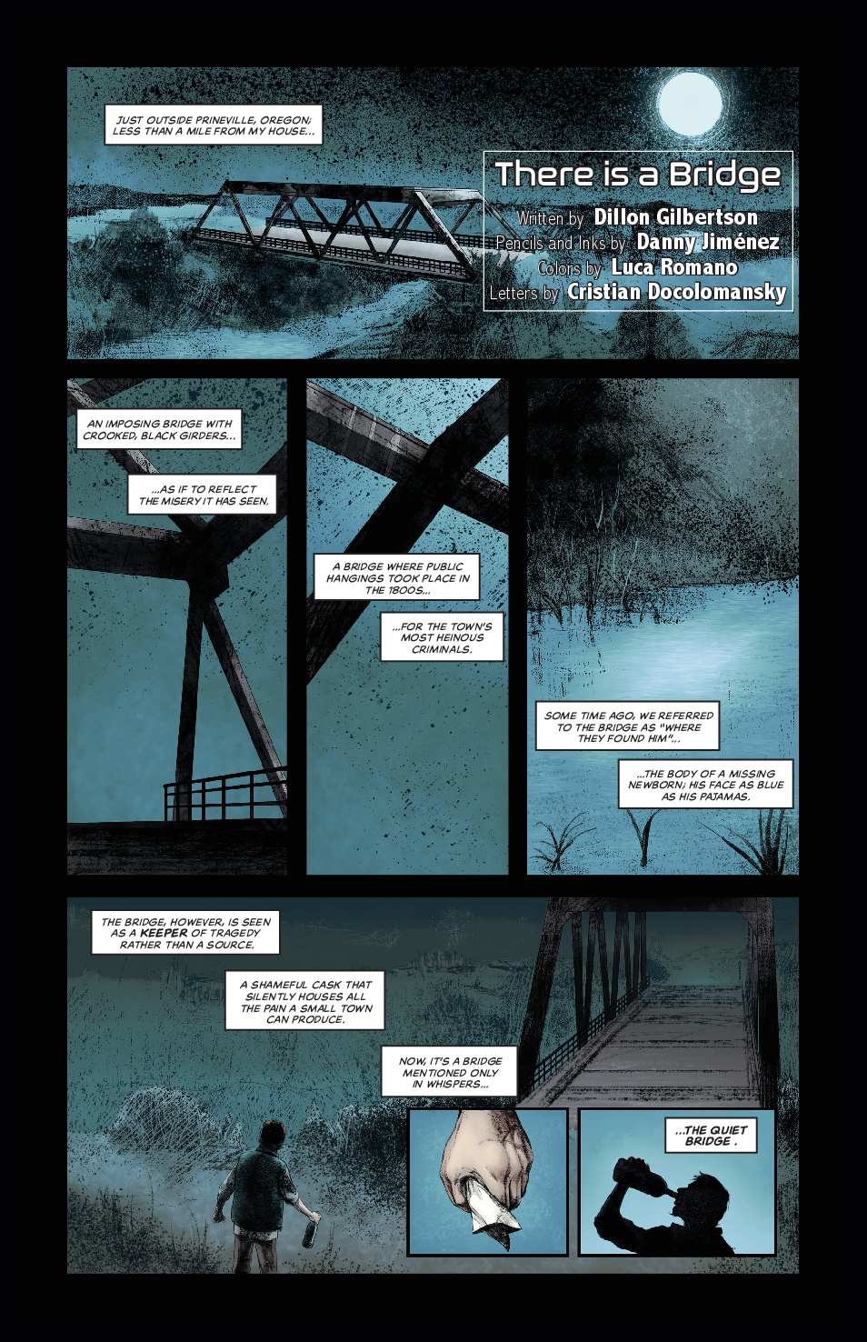 There is a Bridge; Page 1