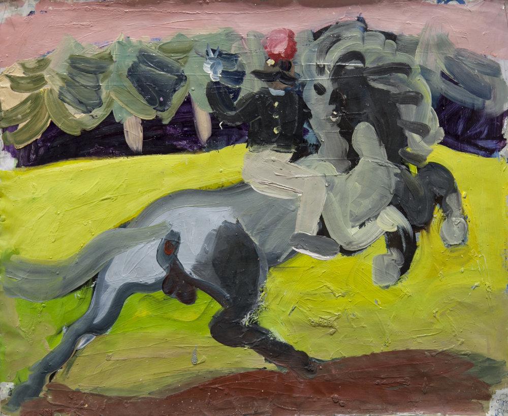 Study of a rider Artsper.jpg