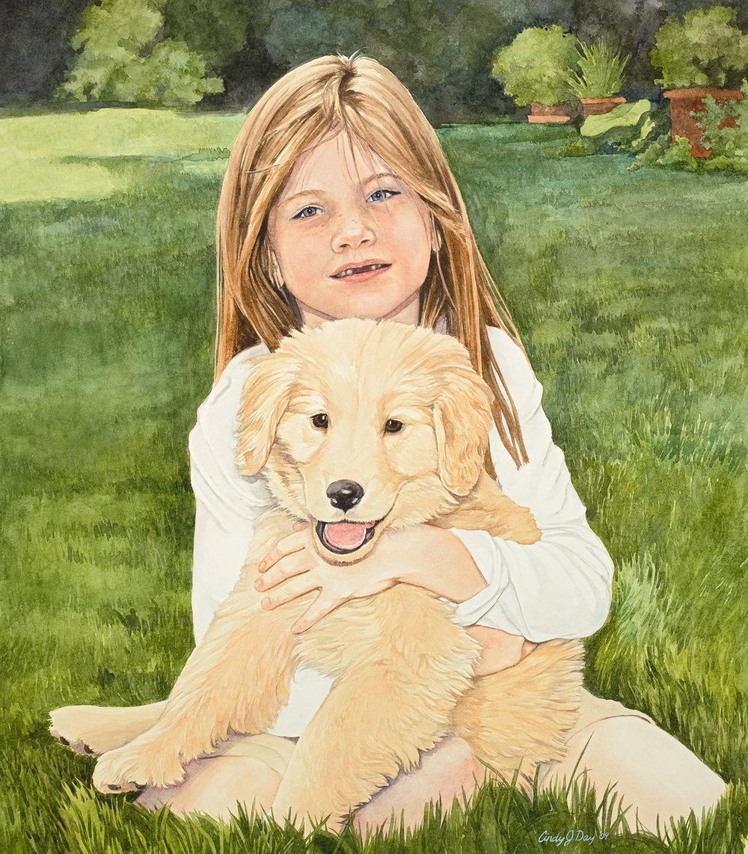 Bennan and Her Dog