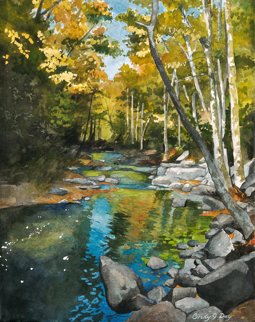 Smoky Mountain Color Creek