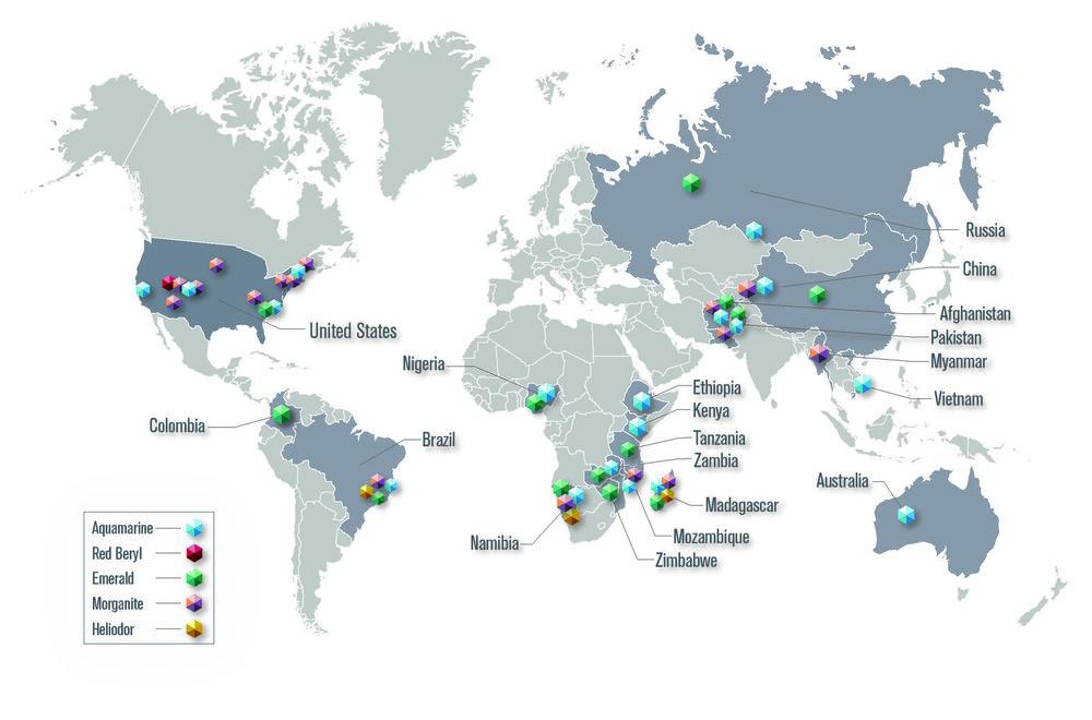 The Risk Gemology Locator Map