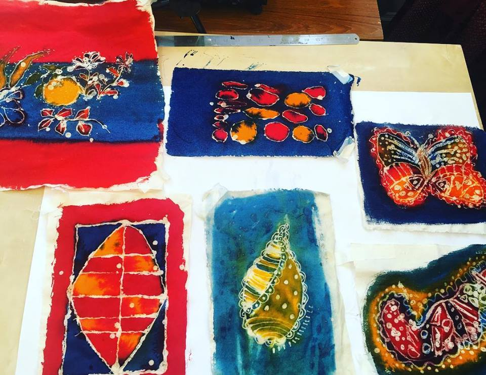 Devised and facilitated a series of weekly textile classes for adults experiencing mental health difficulties of charity  Cooltan Arts .