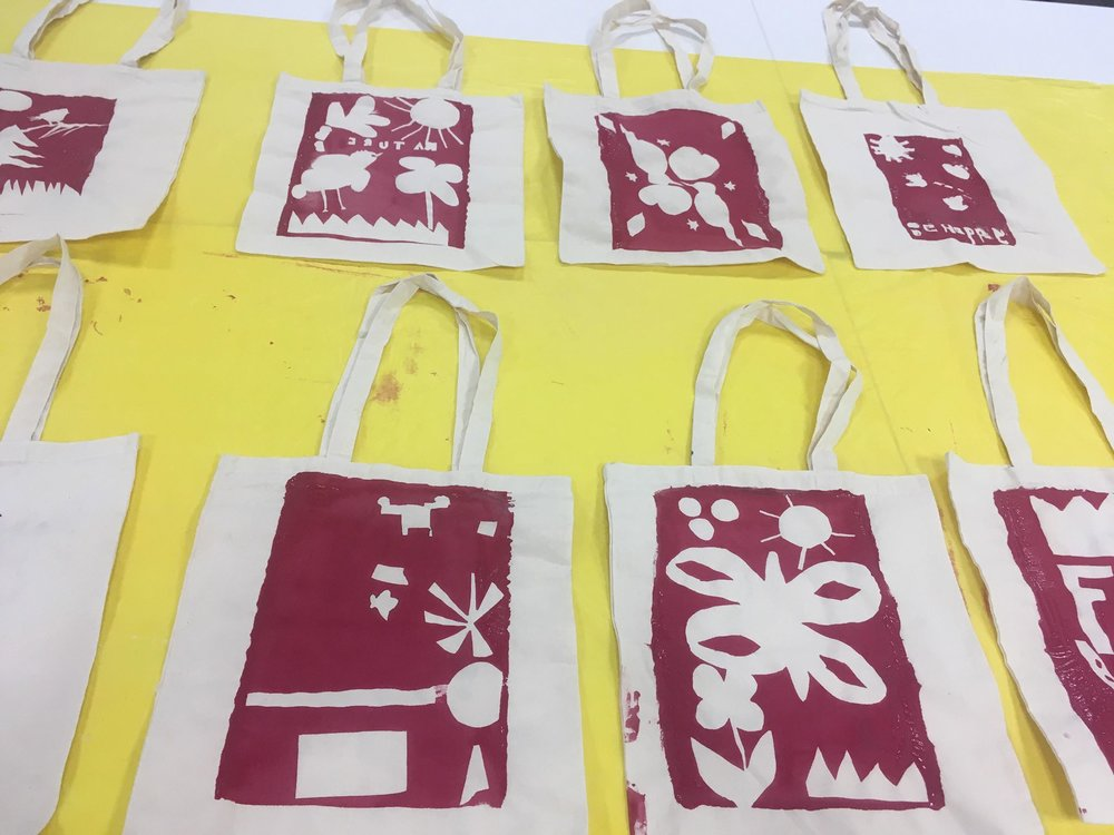 Screen Printing with Veronica Rowlands