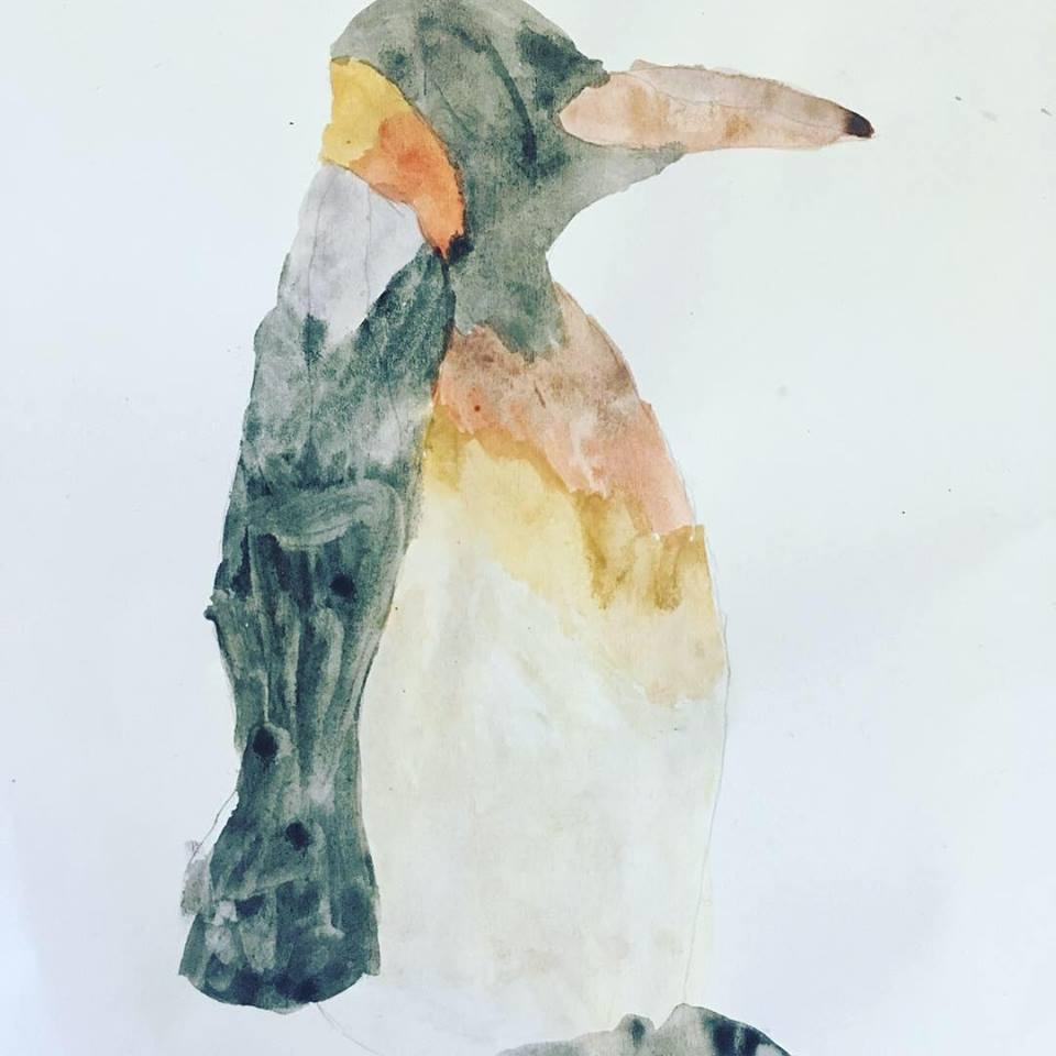 This penguin has so much charm, it could so easily be a character in a children's book.