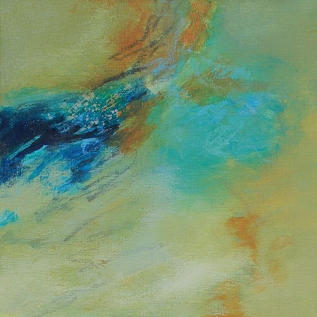 Incoming Wave, 12 x 12 inches, mixed media @10westgallery #abstractart . . . . #gallery #contemporaryart #painter #art #creativityfound #localart #abstractartist #artcollective #iloveart #maketimeforart #interiordesign #artforsale #artist #artworkoftheday #artoftheday #instaart #ilovecolor #mixedmedia #instaartist #artcollection #artlife #artcollector #collectart #artgallery #artlover #bethschmohr