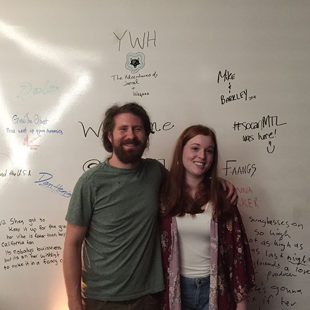 Great writing session with Casey Abrams today! Pleasure to work with you!