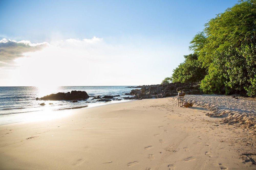 Hapuna beach -