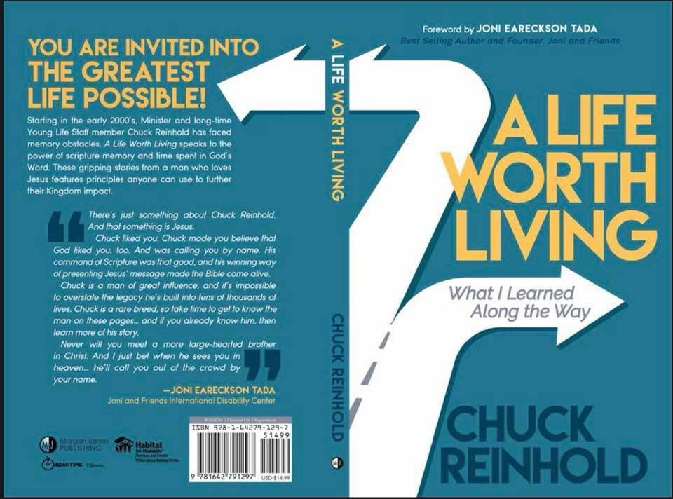 Blog- Chuck Reinhold, A Life Worth Living , What I Learned