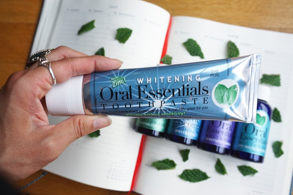 oral essentials toothpaste