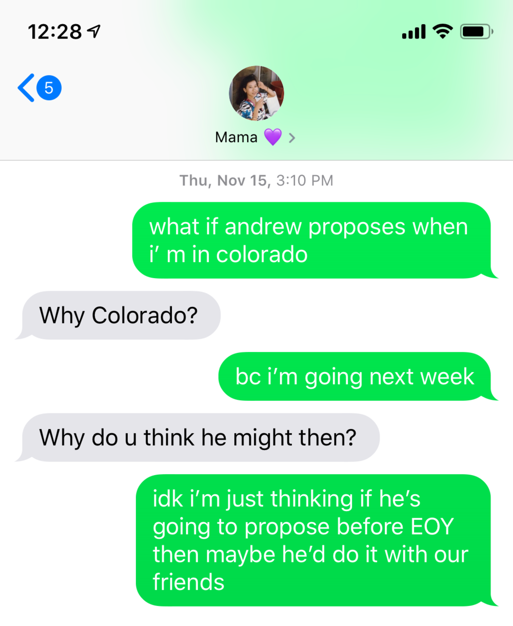 How He Asked: Our Proposal Story | Get the deets on my romantic surprise engagement proposal (and maybe get some proposal ideas to use for your engagement!). | Om & the City Blog #OmAndTheCity #proposal #engagement #proposalideas #engagementideas #engagementproposals #proposalstories