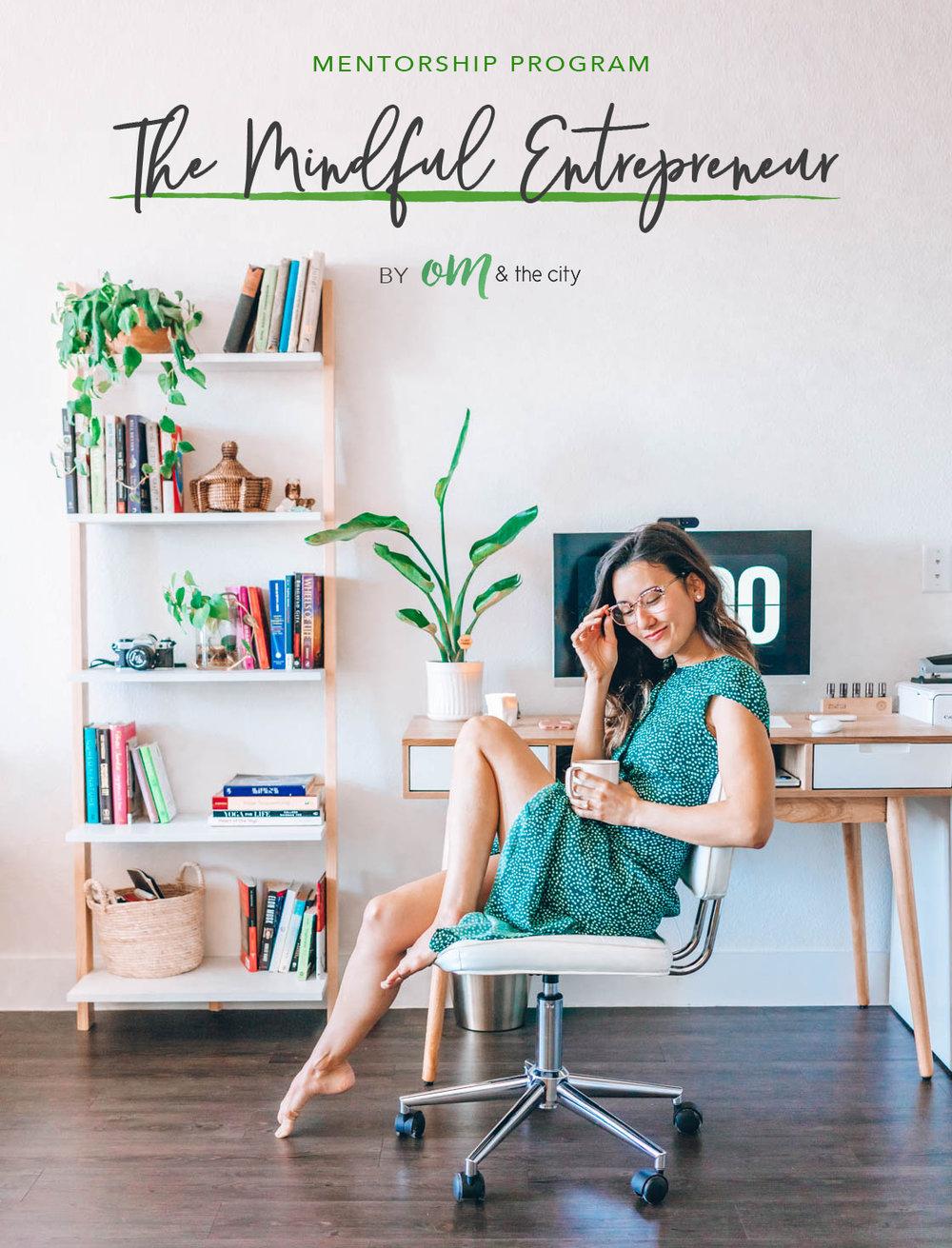 Mindful Entrepreneur Mentorship Program