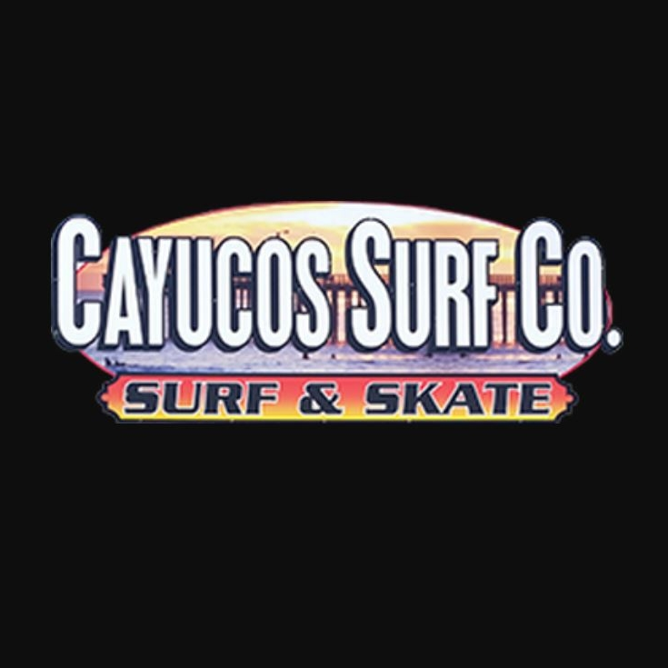 CAYUCOS SURF COMPANY - Cayucos Surf Company carries sweatshirts, t-shirts, and hats. One of the most original brands on the Central Coast. 95 Cayucos Drive805-995-1000  cayucossurfco2016@gmail.com